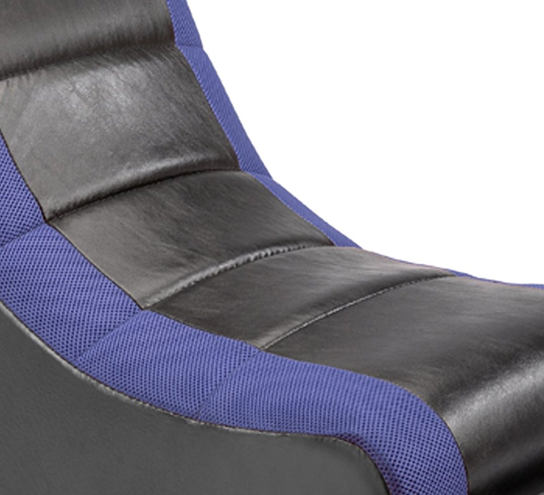 The Crew Furniture 51206 Classic Video Rocker Black//Red Mesh Racing Stripe