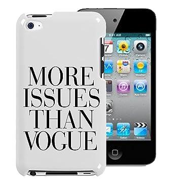 Funda rígida Gadget Zoo® con la frase «More issues than ...