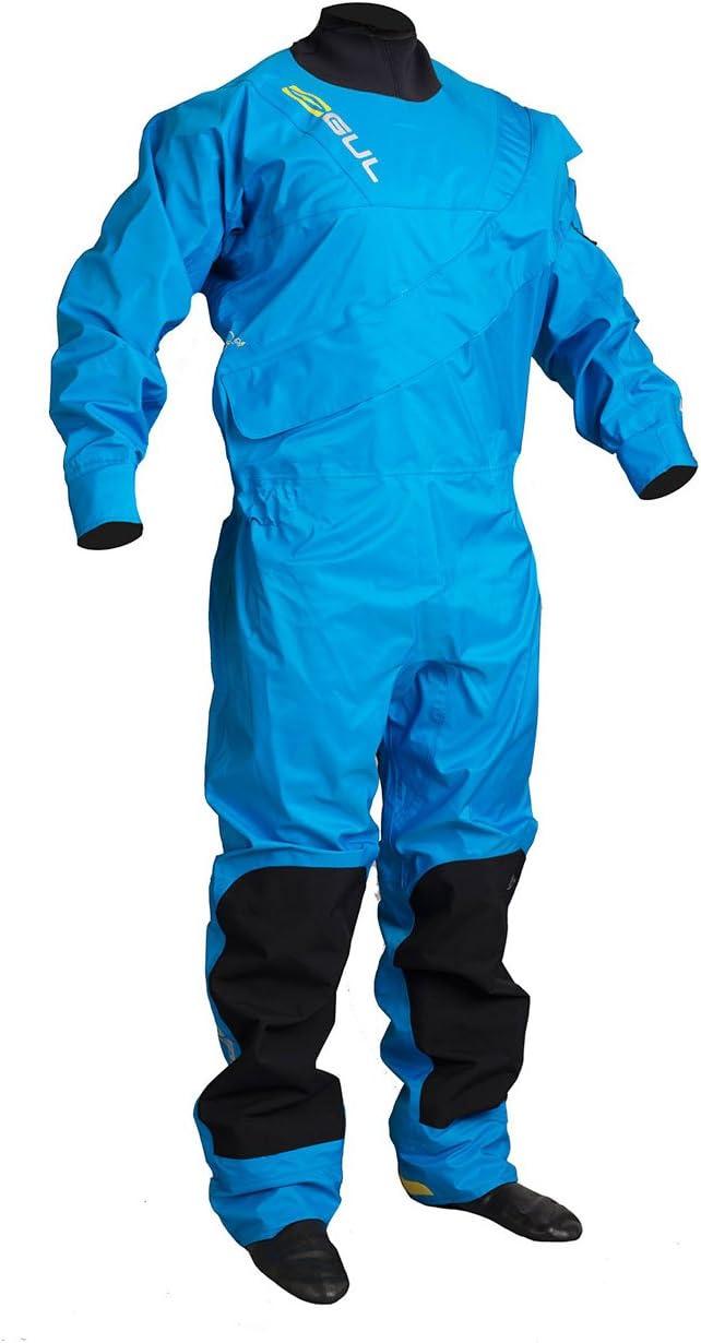 2018 GUL Dartmouth Eclip Zip Drysuit BLUE GM0378-B3 Sizes- - Small ...