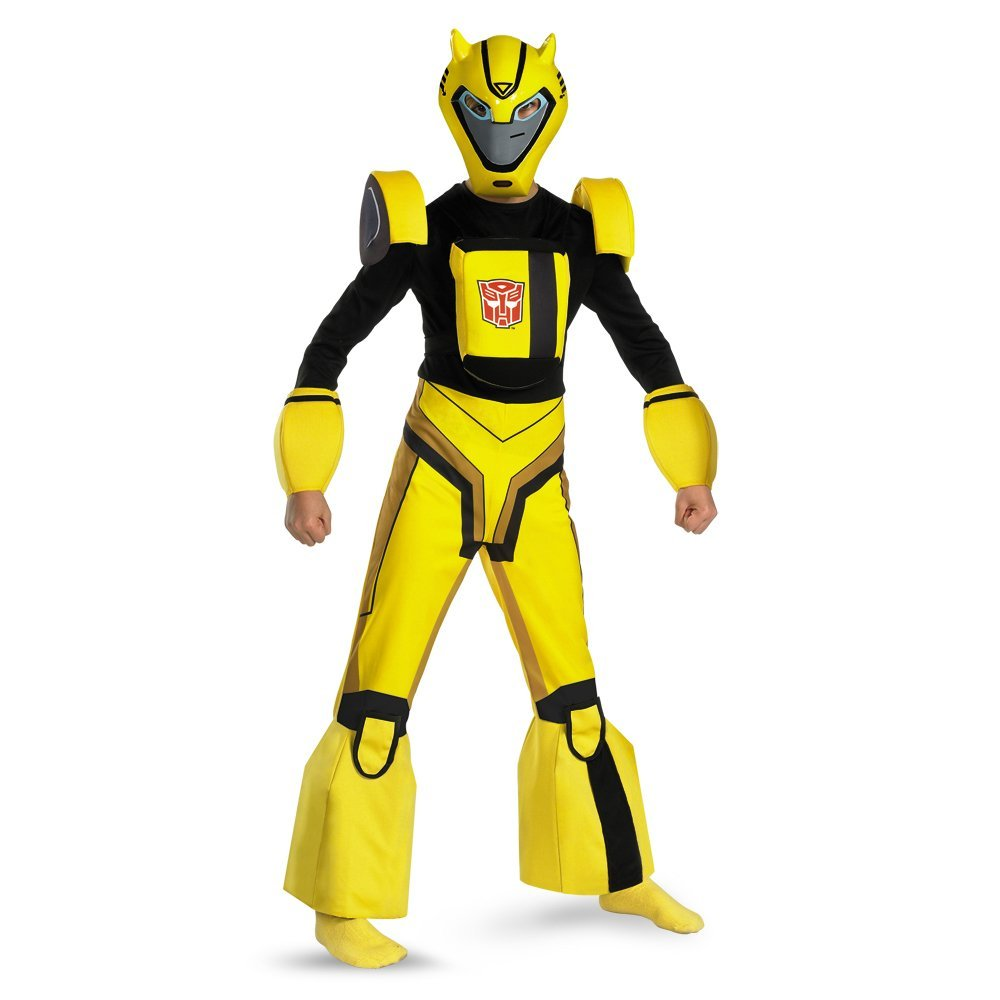 Transformers Animated Bumblebee - Size: Child S(4-6) Costume