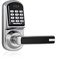 Ardwolf A30 Keyless Smart Door Lock Keypad with Reversible Lever and Automatic Locking