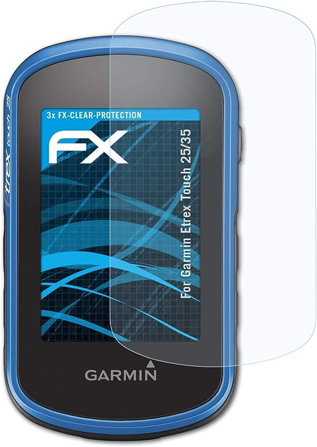 Atfolix Schutzfolie Kompatibel Mit Garmin Etrex Touch Elektronik