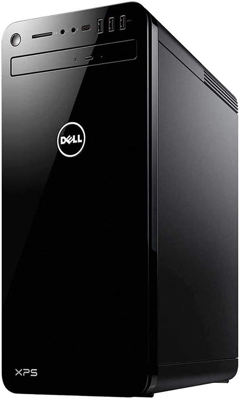 Dell XPS 8930 2020 Premium Desktop Computer I 9th Gen Intel Octa-Core i7-9700 I 64GB DDR4 2TB PCIe SSD I Nvidia GeForce GTX1650 4GB USB-C WiFi DVD Bluetooth MaxxAudio Win 10