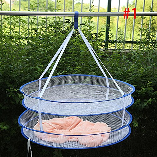 Taloyer Windproof Folding Double Layer Drying Rack Sweater H