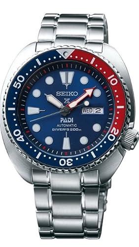 seiko prospex padi 200m diver s automatic with manual winding rh amazon co uk seiko automatic divers watch manual Men's Automatic Watches