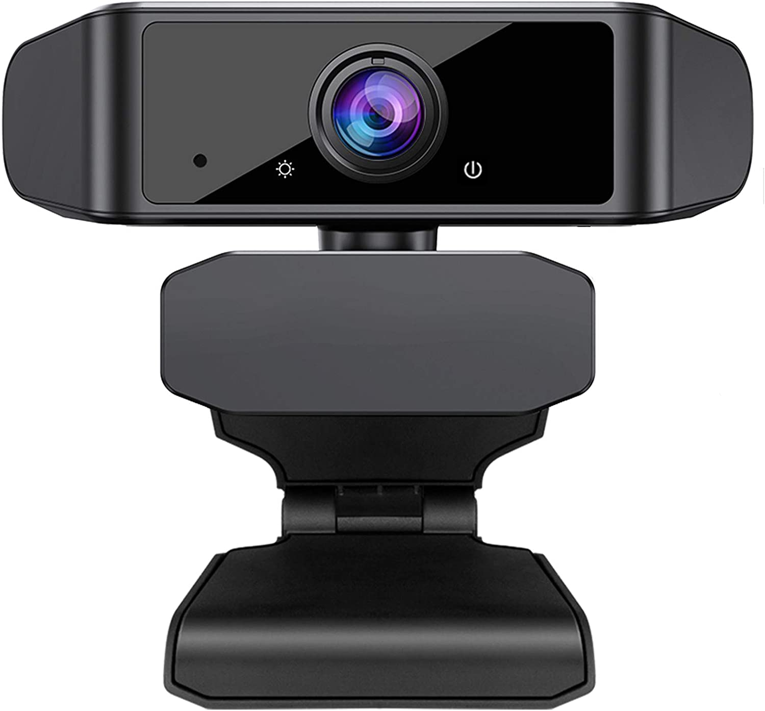 Webcam with Microphone, X-Kim Full HD 1080P Streaming Webcam Computer Web Camera Widescreen USB Camera for PC Laptop Desktop Video Calling, Conferencing