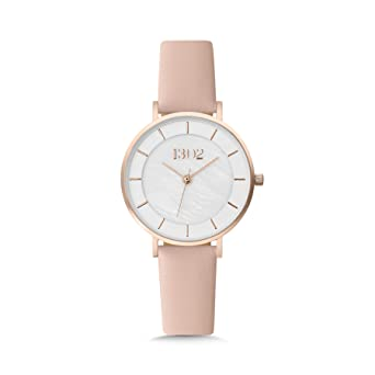 1302 32MM Rose Gold Watches for Women, Womens Watches, Watches for Women, Reloj de Mujer, Womens Wrist Watch, Mother of Pearl Dial, Ladies Interchangeable ...