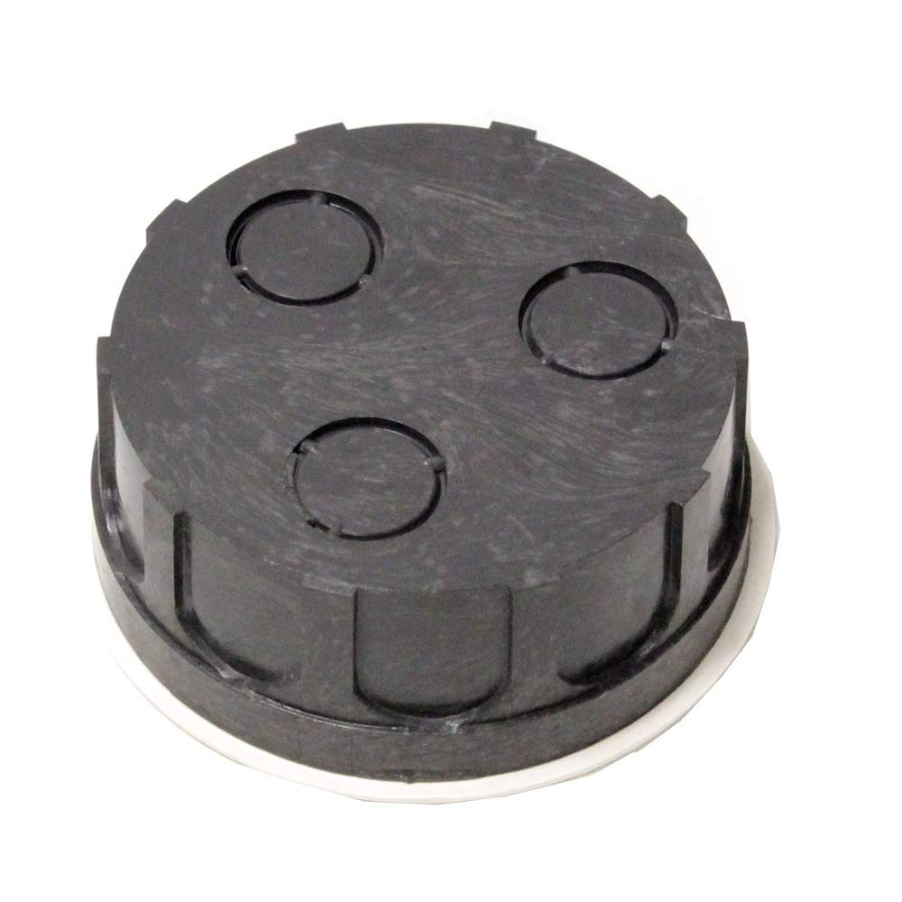 BeMatik - Caja empotrada de Registro eléctrico Redonda 40x80mm: Amazon.es: Electrónica