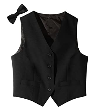 52148a74630 Tuxedo Vest and Matching Bowtie for Women. at Amazon Women's Coats Shop
