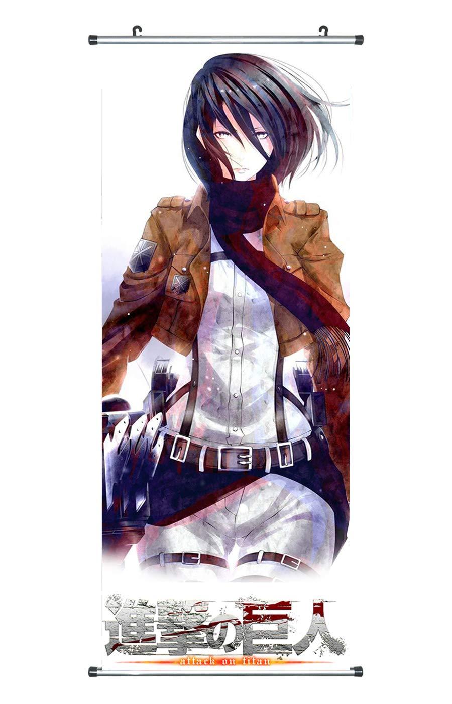 CoolChange Attack on Titan Kakemono/Poster made of fabric, 100x40cm, Theme: Levi Ackermann