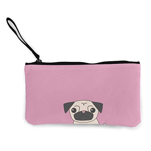 Amazon.com  Women and Girls Cute Pug Dog Animal Pink Cute Fashion ... 4236aa85d