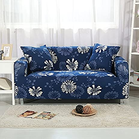 Amazon Com Stretch Printed Sofa Cover Anti Slip Anti Wrinkle Sofa
