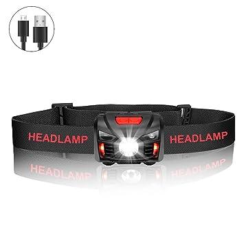 Usb Lampe PêcheCamping Modes Ipx4 5 Smart Winzwon Sensor LedRechargeables Frontale Avec Torche Étanche Pour hrdtxCBsQ