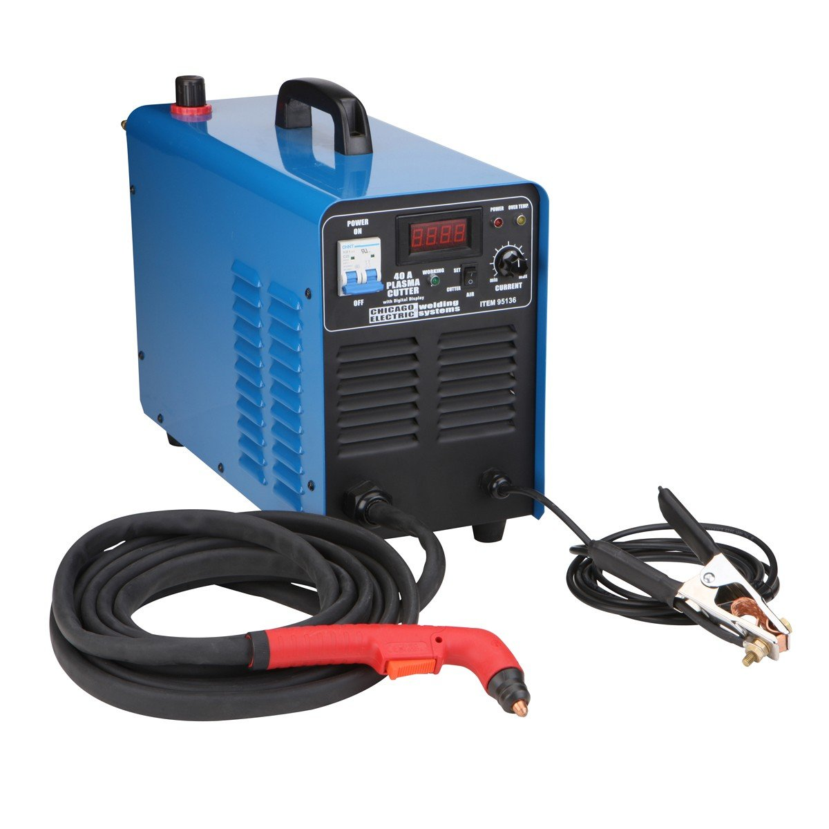 240 Volt Inverter Air Plasma Cutter with Digital Display