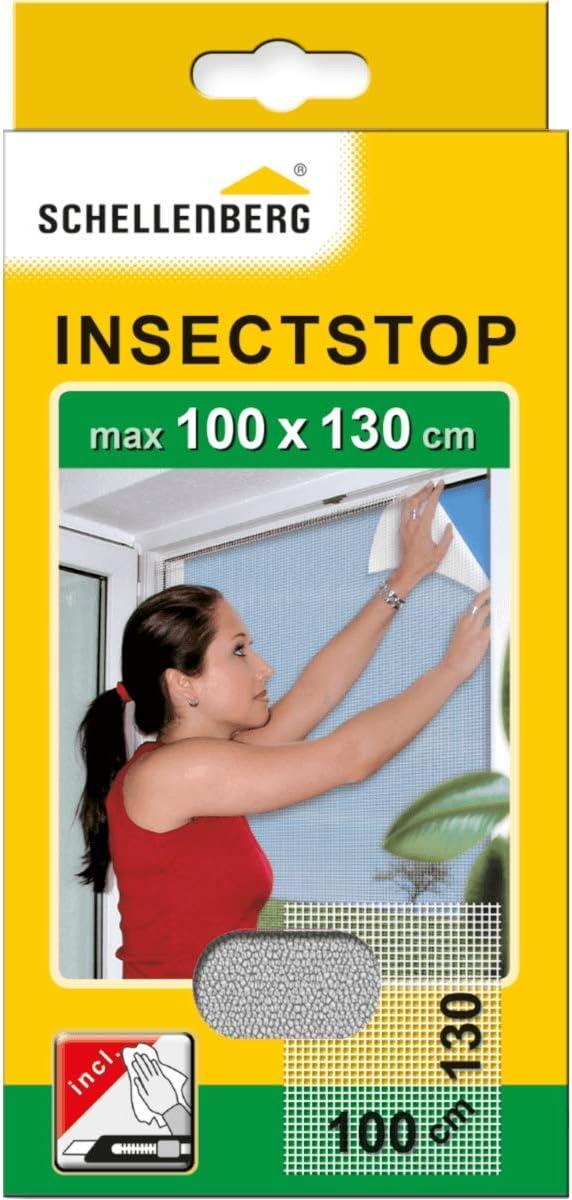Schellenberg 50712 - Mosquitera, protección anti insectos y moscas para ventanas