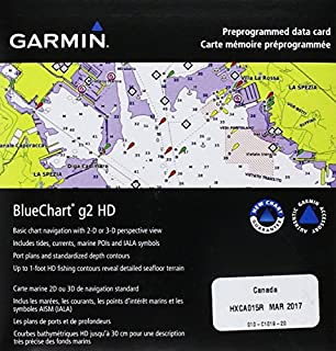 Garmin BlueChart g2 Canada Salt/Freshwater Map microSD Card (B00283RCKS) | Amazon Products