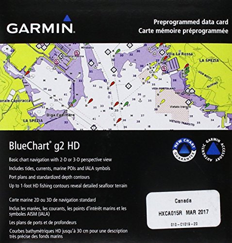 Freshwater Map - Garmin BlueChart g2 Canada Salt/Freshwater Map microSD Card