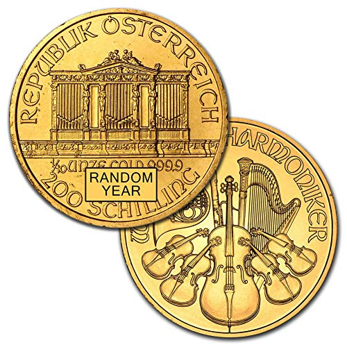 1989 AT -Present Austria Gold Philharmonic (Random Year) 1/10oz Brilliant Uncirculated