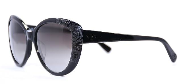 Amazon.com: Valentino anteojos de sol V617S 008 Negro/Gris ...