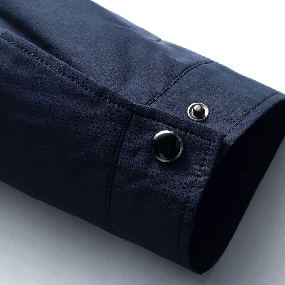 1aa7f08fab29 Featurestop Men s Thin Business Casual Collar Jacket Coats for Men ...