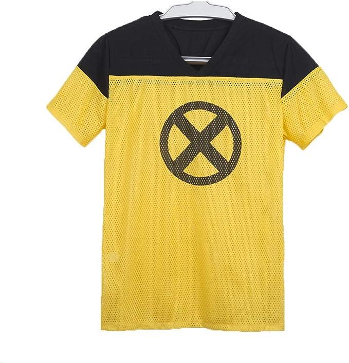 yacn 2018 Movie Deadpool Camiseta, Deadpool Manga Corta Cosplay, Deadpool 2 Camisetas Traje de Las Camisas: Amazon.es: Ropa y accesorios