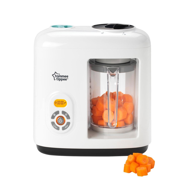 Tommee Tippee 440065 Dampfgarer-Mixer für Babynahrung - weiß