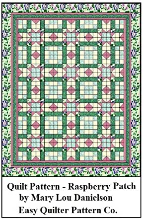 Quilt Pattern - Raspberry Patch - Kindle edition by Mary Lou Danielson. Crafts, Hobbies & Home ...