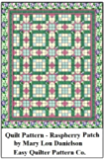 Quilt Pattern - Raspberry Patch