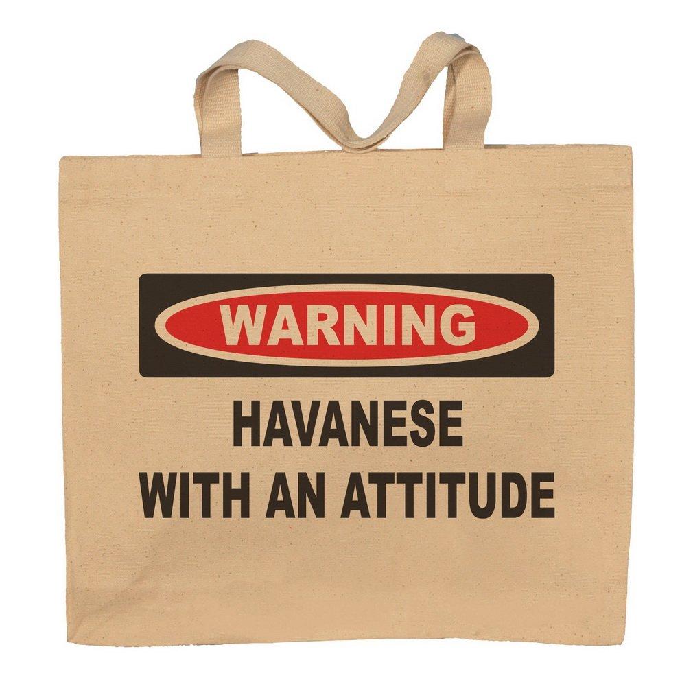 Havanese With An Attitude Totebag Bag