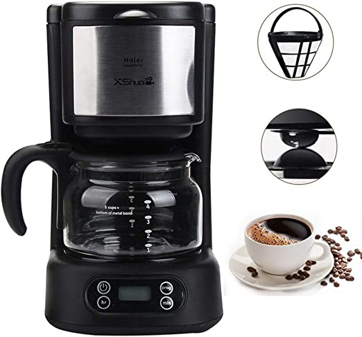 Cafetera de goteo X-shuai, máquina de café programable automática ...