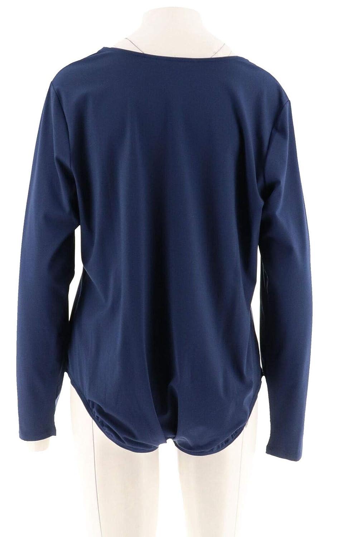 Du Jour Long SLV Scoop Neck Knit Bodysuit A295527