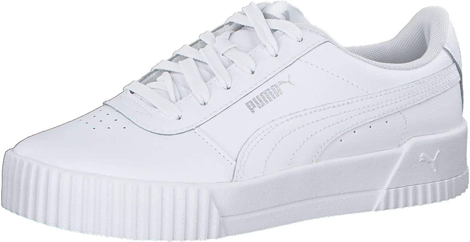 Low-Top Sneakers, White Silver, 5.5 UK