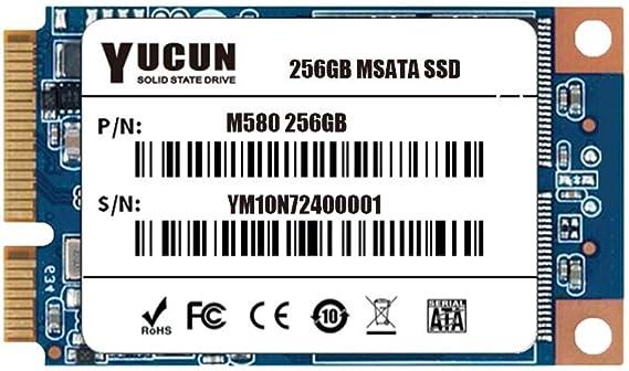 Yucun Msata Iii Interne Solid State Drive 256gb Ssd Computer Zubehör