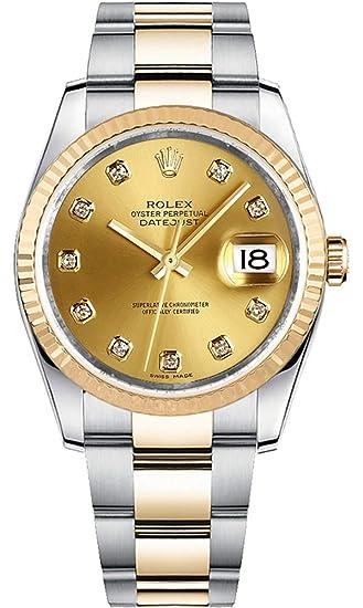 Para hombre Rolex Datejust 36 hombres de lujo del reloj – ref # 116233