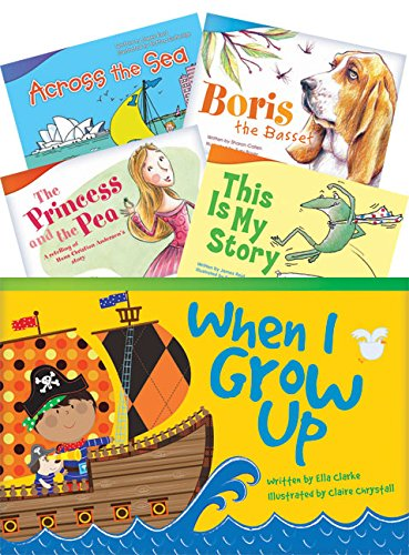 Teacher Created Materials - Classroom Library Collections: Literary Text Readers Set 1 - 10 Book Set - Grade 1 - Guided Reading Level A - I