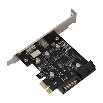 Zerone Tarjeta de expansión USB3.1 Tipo C Adaptador de ...