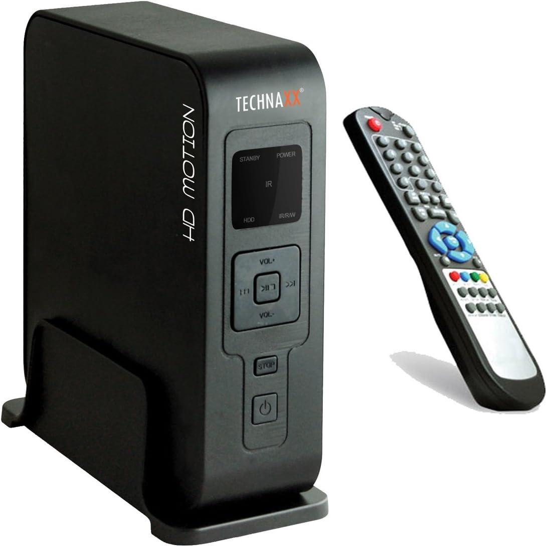 Technaxx HD Motion - Caja de Disco Duro Multimedia (3,5