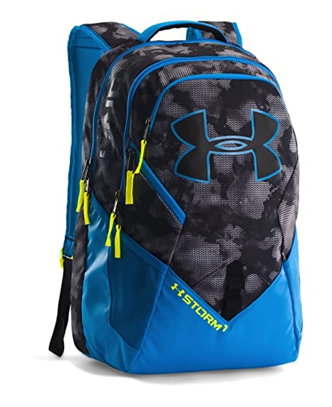 64051810d1f5 Under Armour UA Storm Big Logo IV Backpack One Size Fits All STEALTH GRAY   Amazon.ca  Luggage   Bags
