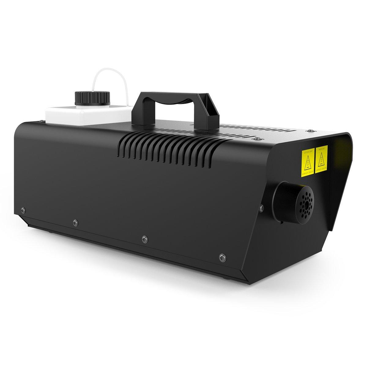 1byone 400 W Mini máquina de niebla con mando a distancia con cable, 550 ml capacidad del depósito: Amazon.es: Instrumentos musicales