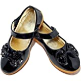 FOOTONREST Latest Collection, Comfortable & Fashionable Black Belly for Kids and Girls 1 Year to 10 Year