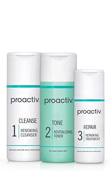 Amazon Com Proactiv Solution 3 Step Acne Treatment System 30 Day Starter Size Beauty