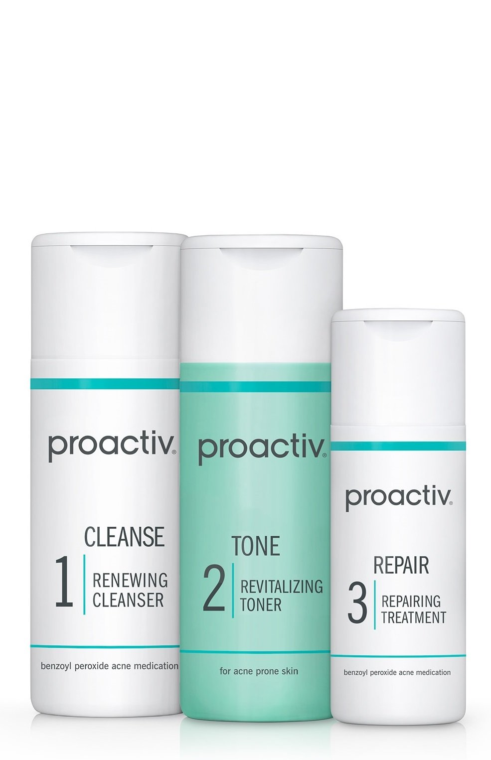 Proactiv 3Step Acne Treatment System (30ay) Starter Size