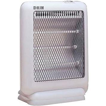 HJM 301 - Calefactor (Calentador de cuarzo, Piso, Blanco, 1000 W, 330 W): Amazon.es: Bricolaje y herramientas