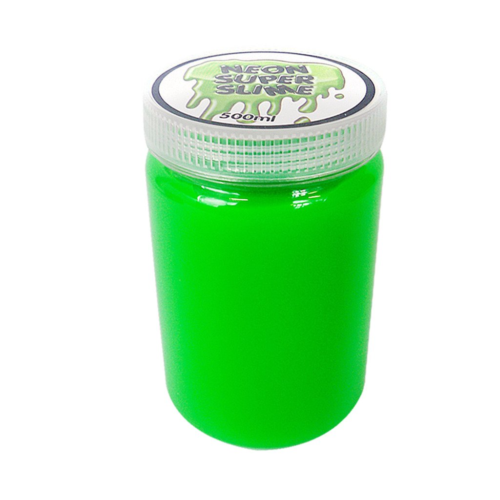 Guaranteed4Less Neon Slime Putty Large 500ml Tub Squishy Gooey Goo Stress Relief Kids Adults Toy (1)