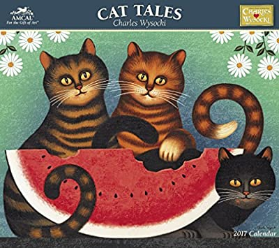 Charles Wysocki - Cat Tales 2017 Calendar