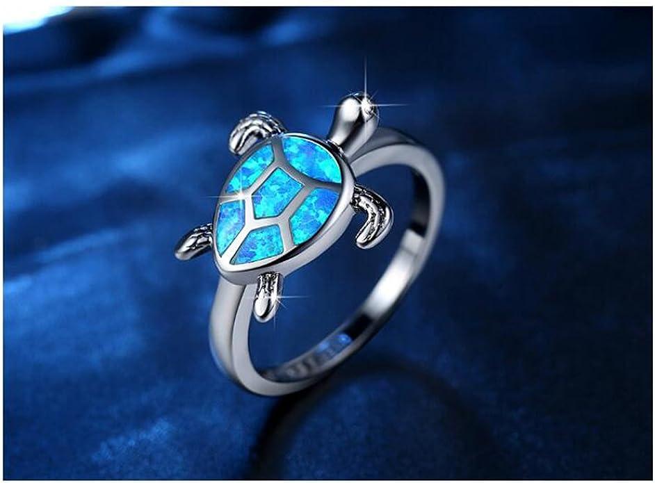 Gold Plated Ring Animal Ring Women Glass Ring Turtle Terrapin Garnet Ring Size 8 Halloween Ring