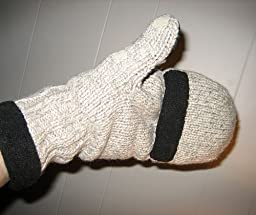 Amazon.com: Heat Factory Fleece-Lined Ragg Wool Gloves
