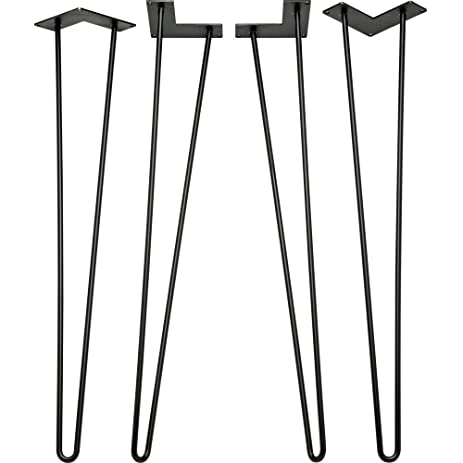 28 in hairpin table legs