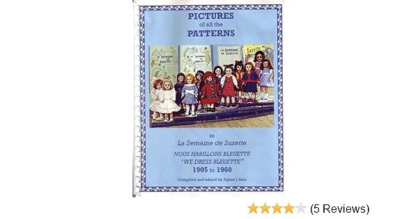 Pictures of All the Patterns in La Semaine de Suzette: Nous Habillons Bleuette