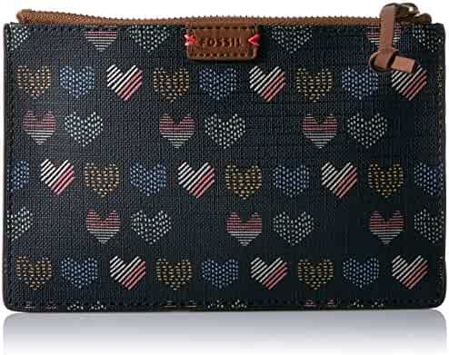 Fossil Rfid Small Pouch-Hearts